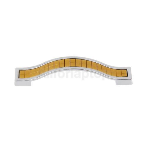 128mm Kristall Möbelgriff Türgriffe Schrankgriff Stangengriffe Griff 96mm