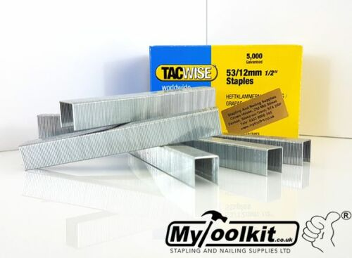 53 Series 6mm 8mm 10mm 12mm 14mm or selection pack staples for upholstery