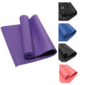 6mm-Thick-Non-Slip-Exercise-Yoga-Mats-Gym-Fitness-Pilates-Physio-Foam-Camping