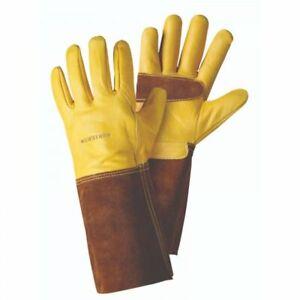 Briers-Ultimate-Premium-Golden-Leather-Gauntlet-Gardening-Gloves-Large-4540005