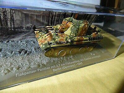 Die cast 1//72 Modellino Carro Tank Flakpanzer Panther mit 37mm Flak 341 Coelian