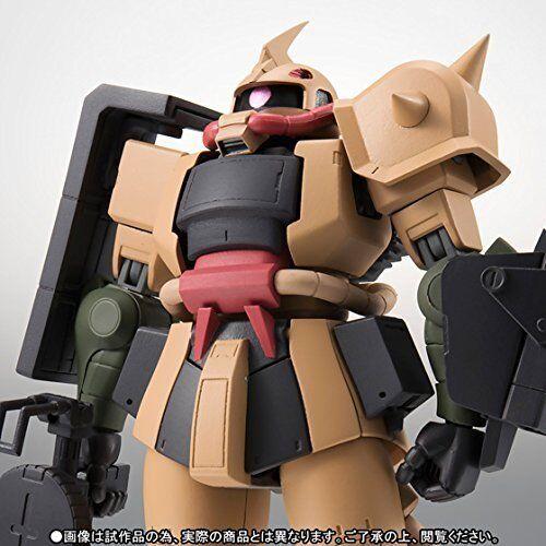 BANDAI  Figure ROBOT SPRITS SIDE MS MS-06D ZAKU DESERT TYPE Ver A.N.I.M.E.JAPAN