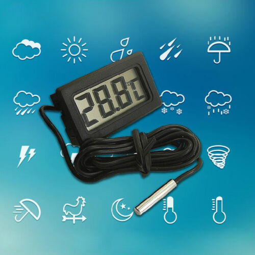 50°+110°C Temperatur Anzeige Messer#Termometer Gift Thermometer Digital LCD
