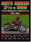 Moto Morini 3-1/2 and 500 Performance Portfolio 1974-1984 by Brooklands Books Ltd (Paperback, 2001)
