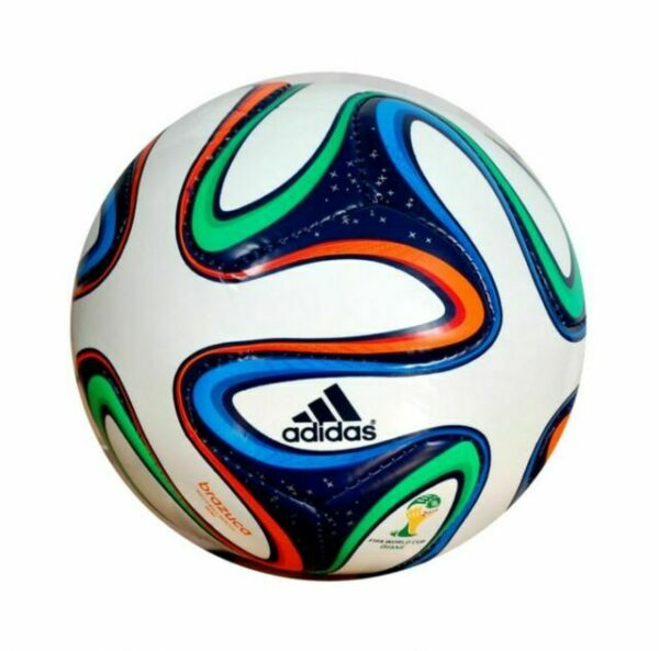 SIZE 5 BY BRAZUCA BALL WORLD CUP 2014 BRAZIL SOCCER BALL Rampage Sports