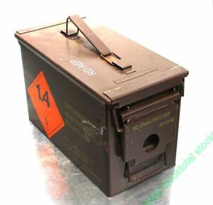 Caja-municion-municiones-de-EE-UU-Tamano-2-M2A1-Cal-50-5-56-usada-30X15X8