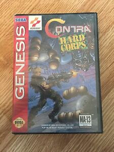 Contra-Hard-Corpse-Sega-Genesis-Cib-Game-Authentic-Works-SG1