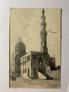 POSTED 1907 VINTAGE POSTCARD - MOSQUE KHAHIL BAY DUBAI (KK2138)