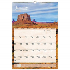 2021 Wall Calendar By At A Glance 15 12 X 22 34 Large Monthly Scenic