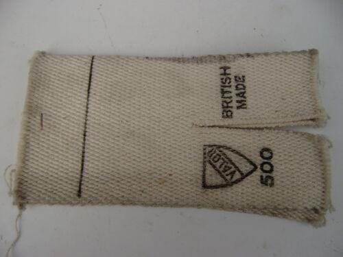 Valor 500 Heizung Docht Ausgenommen Metall Träger Stoff Paraffin für 525 585 555