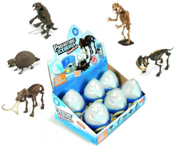 Geoworld Large Prehistoric Icebergs Assembly Set Museum Quality Children Toys