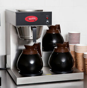 Avantco C30 Pourover Commercial Coffee Maker Restaurant ...