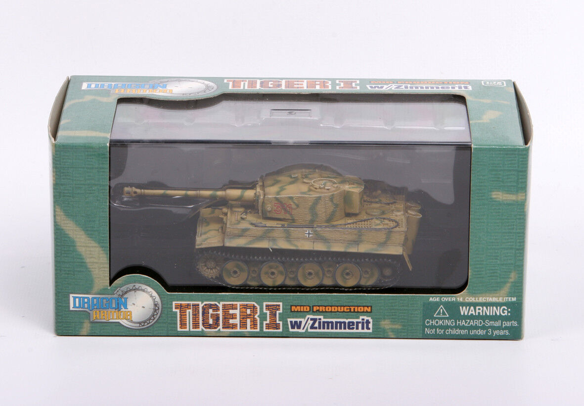 Armadura de dragón 1 72, EXTRA rara Alemán Tiger I, Art.  60062