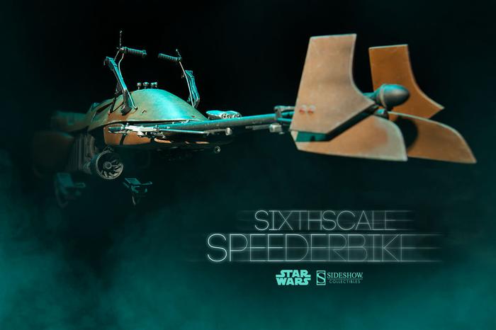 1:6 Scale Figures--Star Wars - Speeder Bike 1:6 Scale 9