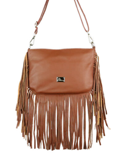 Conceal Weapon Holster CCW Bag Concealed Carry Leather Fringe Crossbody Purse