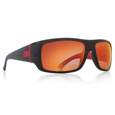 Dragon Alliance Vantage Sunglasses Black Frames Red Ion Lenses