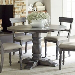 Buy Progressive Furniture Muses Round Dining Table Dove Grey Small