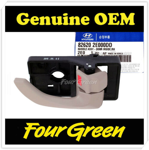 826202E000DD Inside Door Handle Front Right for Hyundai 2005 Tucson OEM NEW