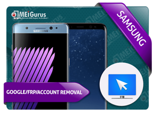 SAMSUNG GOOGLE//FRP//ACCOUNT REMOVAL INSTANT REMOTE SERVICE OVER USB