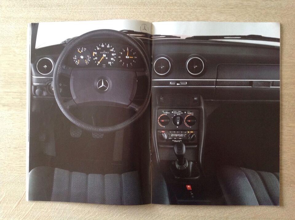 Andet biltilbehør, Mercedes-Benz 123