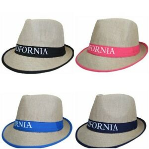 8a50634828c Men Women Unisex Fedora Hat Trilby Cuban Style Upturn Short Brim Cap ...