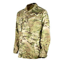 Genuine British Army Tropical MTP Combat Shirt Soldier 95 Button Up New & Used