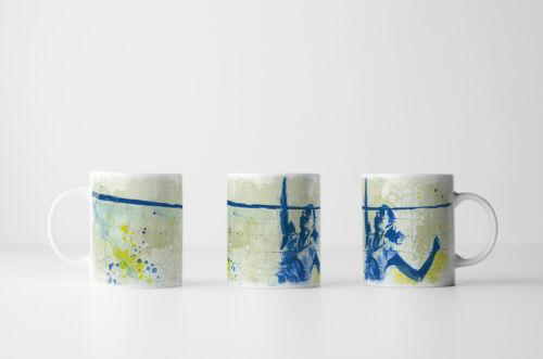 Design Sinus Art Volleyball Tasse als Geschenk