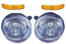 2002 2003 2004 JEEP LIBERTY HEAD & SIGNALIGHT LAMP COMBO SET RIGHT & LEFT