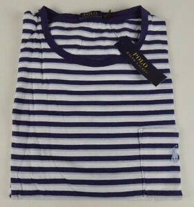 W 50 Striped Nwt49 Lauren Shirt Details T Pony About Ralph Ringer Pocket Polo 100Cotton ZXPkiu
