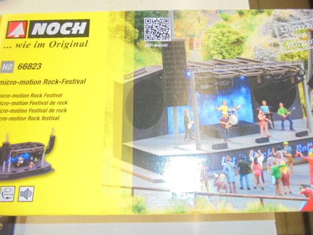 Noch 66823 Ho Micro-Motion Rock-Festival Limitado 1000 Unidades  Nuevo en Emb.