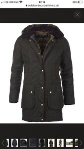Ladies-Barbour-Bower-Jacket-Size-8-BNWT-RRP-229