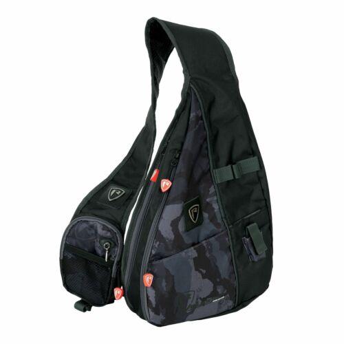 Tacklebox Fox Rage Voyager Camo Street Sling Angelrucksack Cross Bag inkl