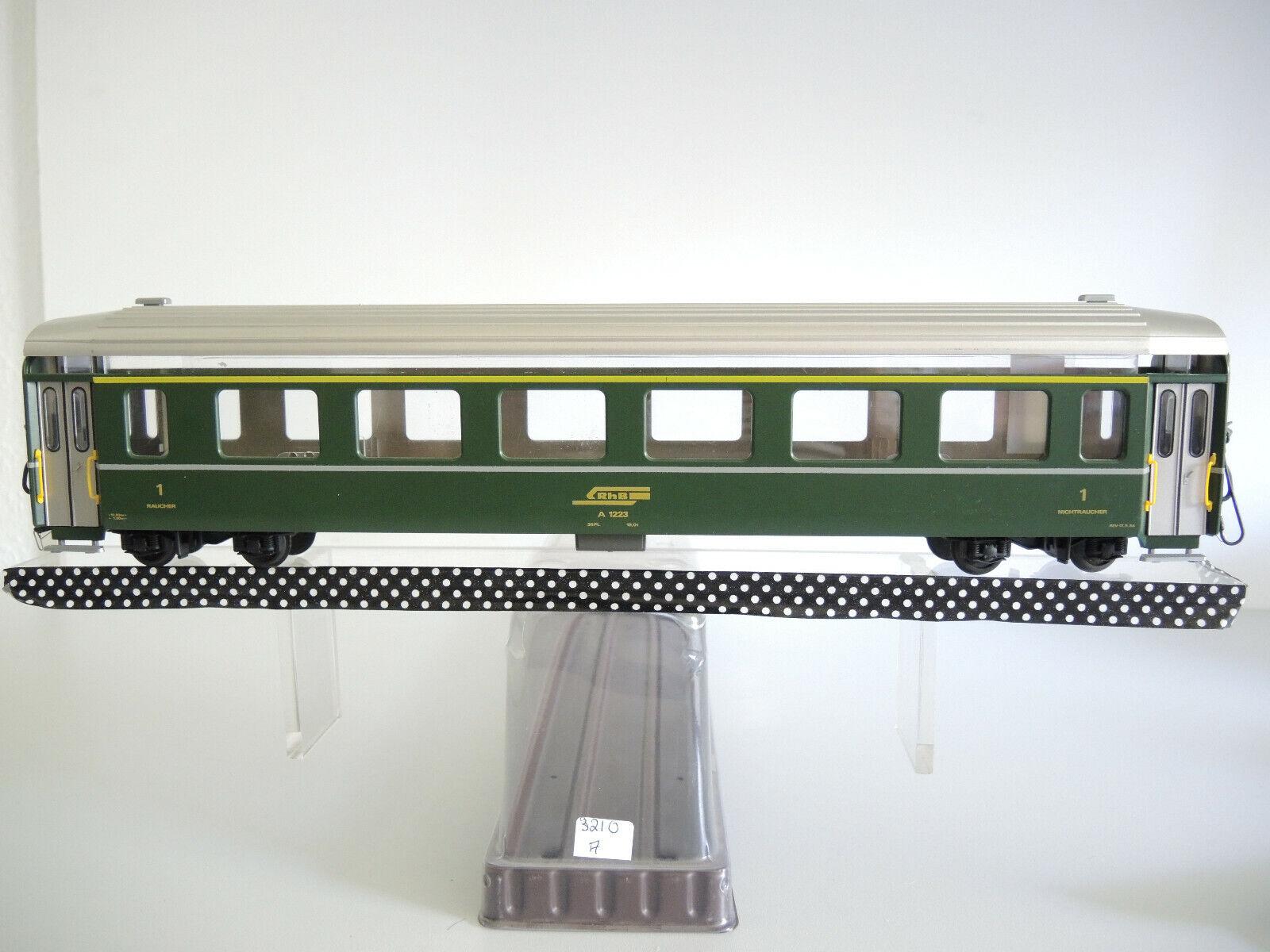 Fama 3210, Personenwagen der Rhätische Bahn 1.Kl. Bitte Text lesen, ohne OVP (A)