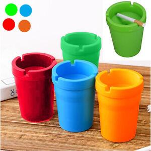 Posacenere In Plastica Da Esterno Vaso Colorato Portacenere Sigarette Tappo 952