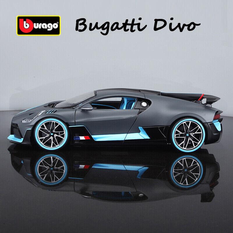 Bburago 1:18 Scale Die Cast Metal Model Bugatti Divo Car Collection Toy Vehicles