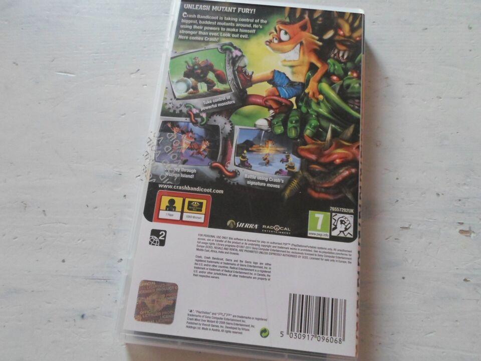 Crash Bandicoot Mind Over Mutant, PSP