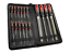 16pc File Set 12x10cm small 4x20cm Files Rubber Gripped Garage Engineers Case