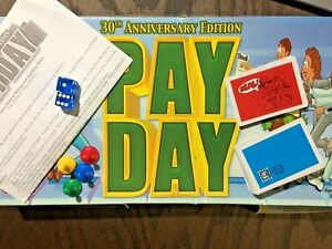 30th-Anniversary-Edition-PAY-DAY-Board-Game-Replacement-Parts-Your-Choice