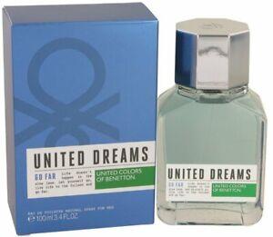 United-Dreams-Go-Far-by-Benetton-cologne-for-men-EDT-3-3-3-4-oz-New-in-Box