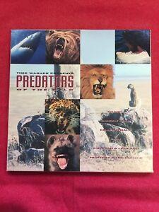 Predators-Of-The-Wild-Laserdisc-Box-Set-Time-Warner-3-LD-Cheetah-Shark-Bear