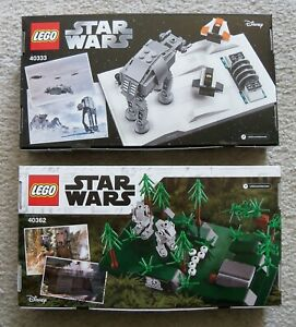 LEGO-Star-Wars-Rare-2-Exclusive-Sets-40333-amp-40362-20th-Anniversary-New