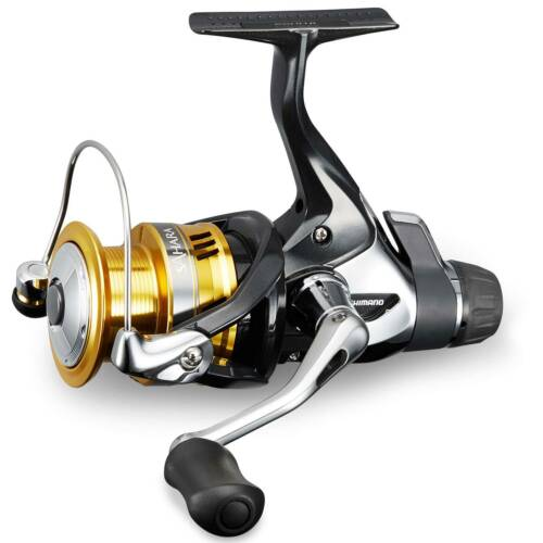 Shimano Angelrolle Kampfbremsrolle Spinnrolle Sahara Fightin/' Drag 3000S RD