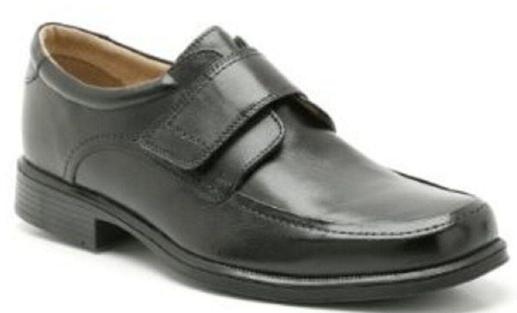 Heben / Griff / Harfe Roll Herren Clarks Freizeit Klettverschluss Schuhe