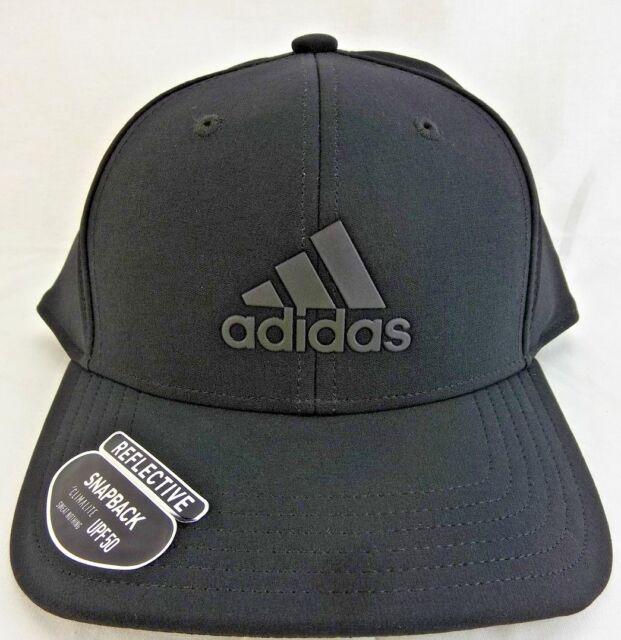 Buy adidas Mens Adizero Reflective Snapback Cap Black online  ccdd6cbf0ae