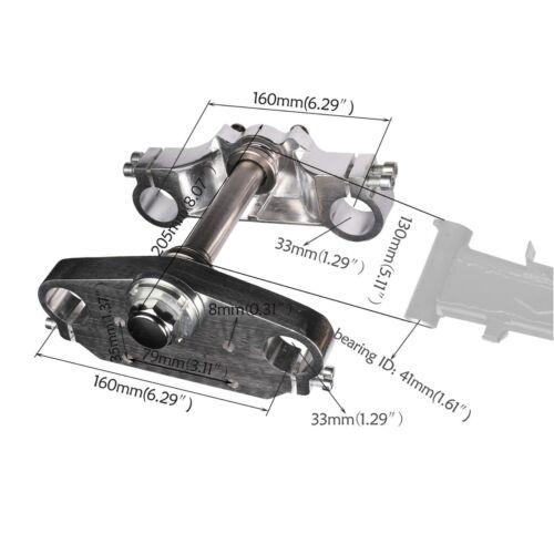 33mm Triple Tree 22mm Handle Bar for Front Shock 50cc 110cc 125cc Dirt pit Bike
