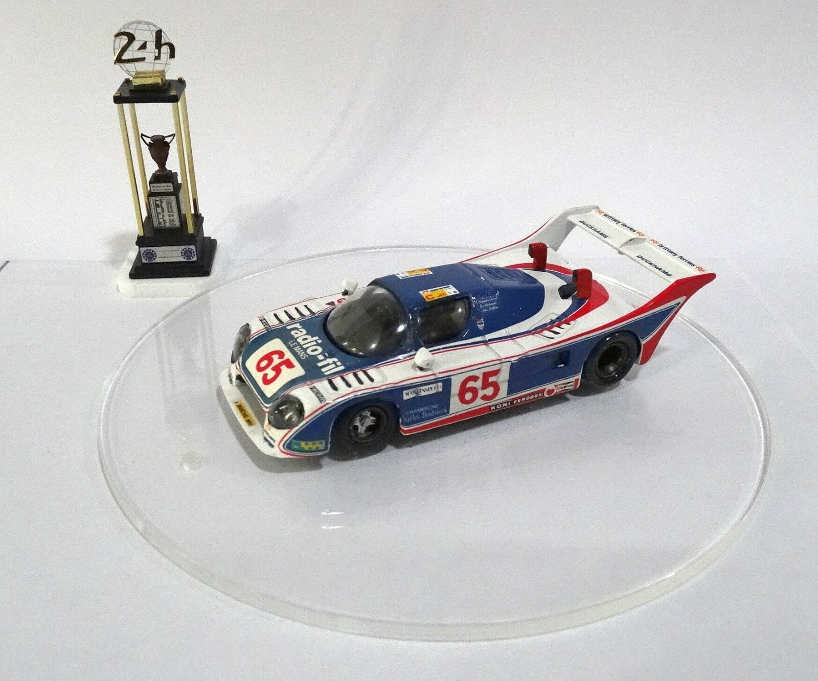 ADA 01 MM  65  Le Mans 1983 Built Monté Kit 1 43 no spark MINICHAMPS