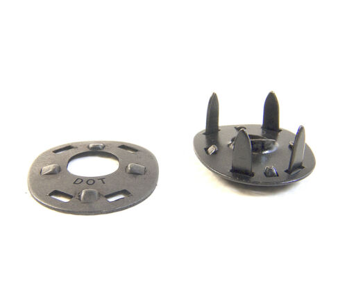 Black Oxide 20 of Each Piece Lift The Dot Fastener/'s Socket /& Clinch Plates