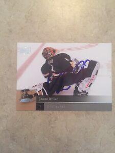 Jonas-Hiller-Signed-Anaheim-Ducks-Card-Calgary-Flames
