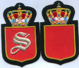 Royal King Crown Serbia Serbian Family Name Robe Cape Cloak Patch Sewing Sew S