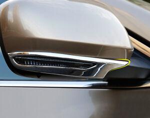ABS Chrom Außenrückspiegel Abdeckleiste 2 Stück für Renault Koleos 2017-2019